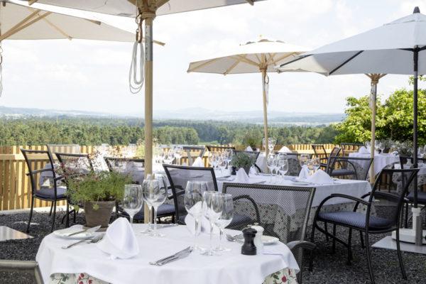 Gartenrestaurant und -terrasse: Genussmomente unter freiem Himmel